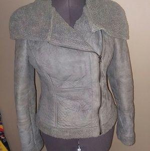 Warm soft coat